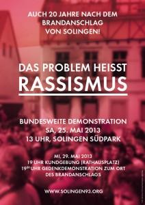 Solingen93-Plakat